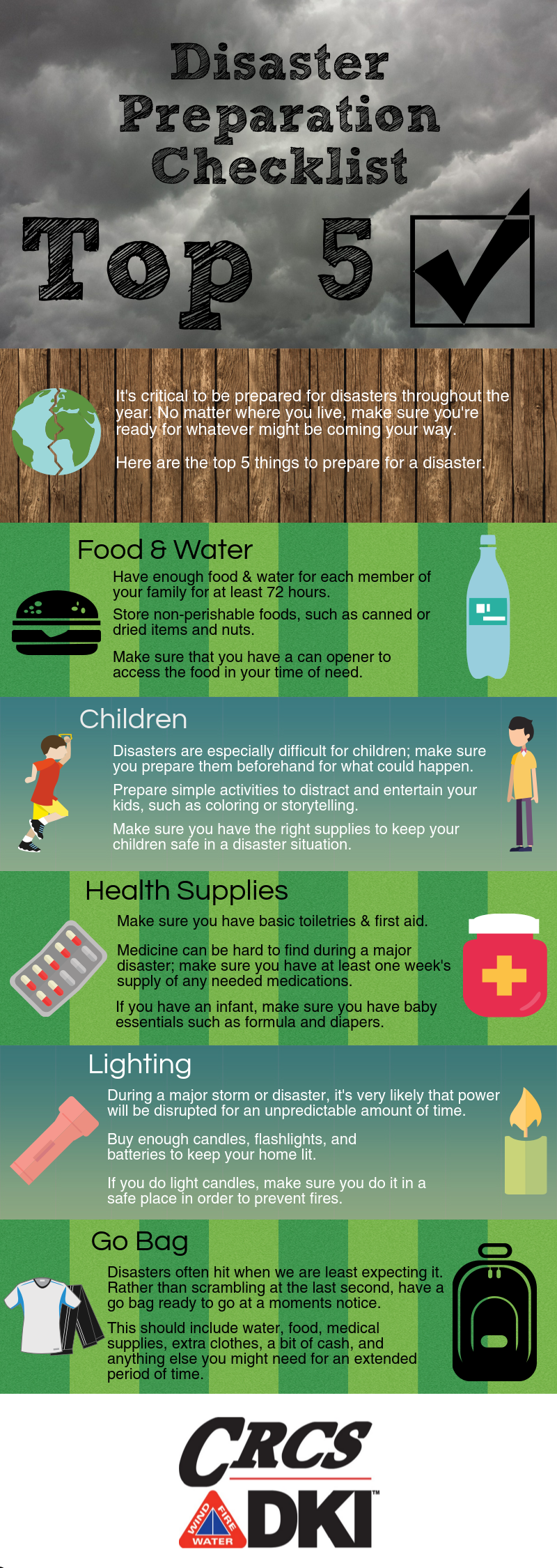 CRCS Disaster Prep Checklist