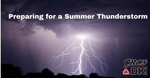 Preparing for a Summer Thunderstorm